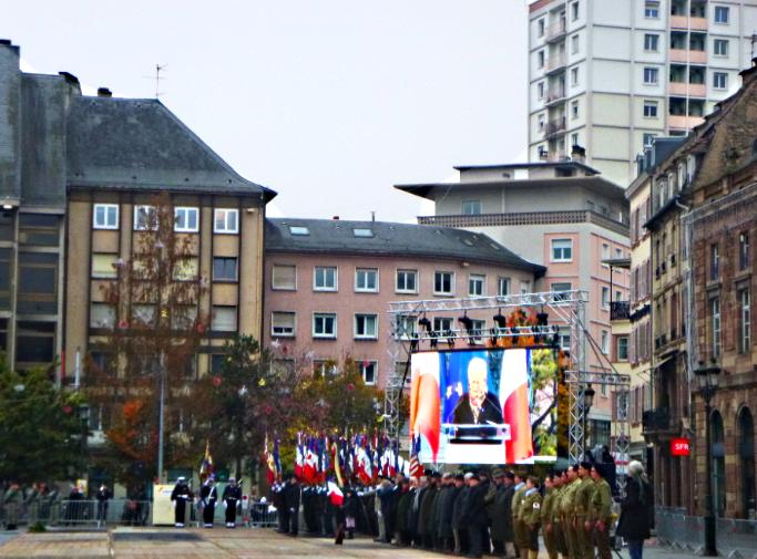 17 NOVEMBRE 2019 - 75° ANNIVERSAIRE DE LA LIBERATION DE STRASBOURG