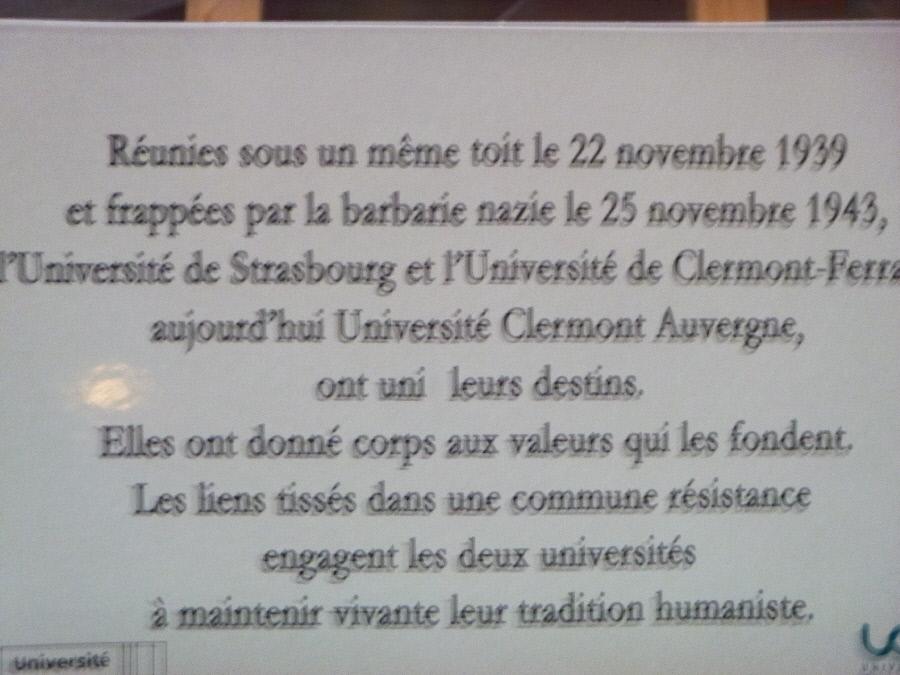 25 NOVEMBRE 19 - Commémoration rafle de 1943