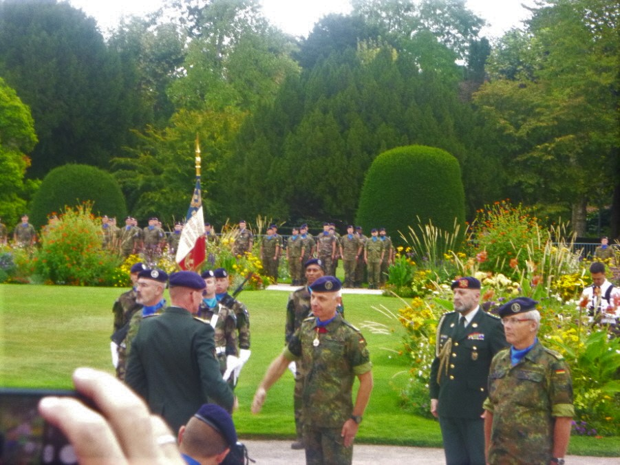05 SEPTEMBRE 2019 - ORANGERIE - Passation de commandement de l'Eurocorps