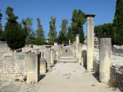 Vaison la romaine -  site de La Vilasse