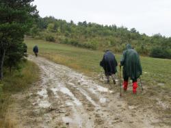 Vers Jas Piechabert - chemin très boueux