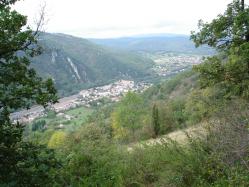 Arrivée sur Foix