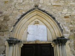 Limans une des pierres de chancel