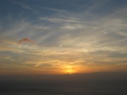 6 cap finisterre coucher de soleil