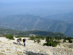 Montée mont ventoux par GR4