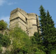 Montbrun les bains - Le château