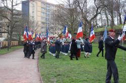 Arrivee drapeaux