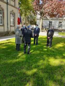 8 mai Erstein remise décoration