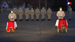 Hommage au sergent HUYNH et au brigadier RISSER