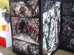 Editions 2024 - panneaux du labyrinthe