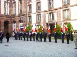 Les porte-drapeaux de ce jour