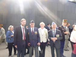 Avec Mr le Maire d'Erstein et ses administrés